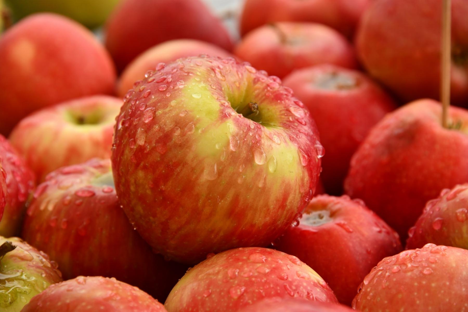 健康零食的選擇:蘋果代替朱古力棒